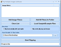 Flip Multiple Images Software