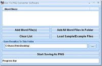 Doc To PNG Converter Software