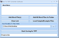 Doc To TIFF Converter Software