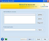 Freeware Word to PDF Converter screenshot medium