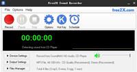 Free2X Sound Recorder