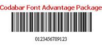 Codabar Font Advantage Package