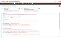 SQL Permissions Extractor