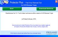 W32/Genome Free Trojan Removal Tool