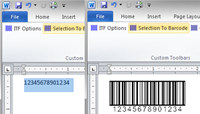 BarCodeWiz Interleaved 2of5 Barcode Font