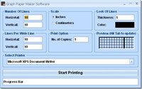 Graph Paper Maker Software