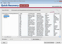 Advanced MS Access Recovery Software