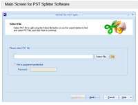 Download Split PST Tool
