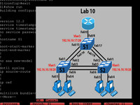 LammleSim Cisco CCENT Simulator screenshot medium