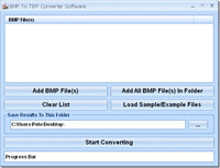 BMP To TIFF Converter Software