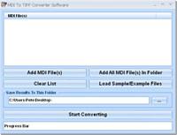 MDI To TIFF Converter Software