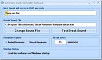 Automatic Break Reminder Software