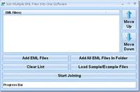 Join Multiple EML Files Into One Software