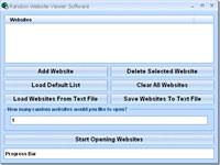 Random Website Viewer Software