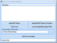 ASF To AVI Converter Software