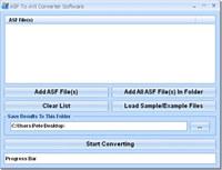 ASF To AVI Converter Software
