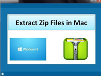 Extract Zip Files in Mac