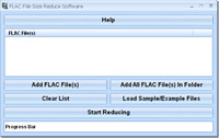FLAC File Size Reduce Software