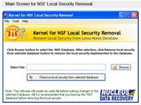 Notes Local Security Remover