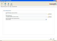Repair MS SQL Server