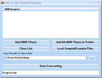 WMF To TIFF Converter Software