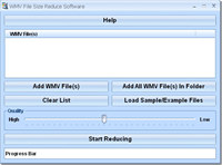WMV File Size Reduce Software