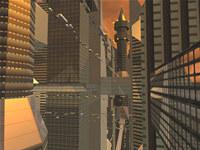 Sci-Fi Future City 3D Screensaver