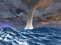 Tornado SeaStorm 3D Screensaver screenshot medium