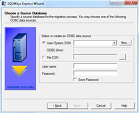 Sybase ASA to MS SQL Server Express Ispirer SQLWays 6.0 Migration Tool