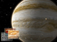 Jupiter 3D Space Survey Screensaver for Mac OS X