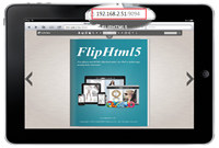 PDF to Flipbook Creator for iPad