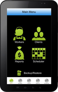 Cleaning Business Software for Mobile screenshot medium