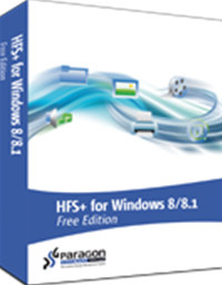 HFS+ for Windows 8/8.1 Free Edition