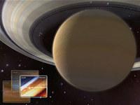 Saturn 3D Space Screensaver