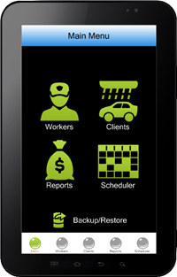 Car Wash Software for Mobile