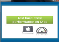 Test hard drive performance on Mac