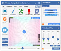 AV Voice Changer Software Diamond screenshot medium