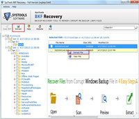 XP Backup File Repair