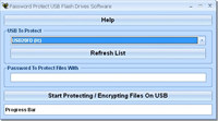 Password Protect USB Flash Drives Software