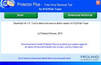 W32/Kido Free Trojan Removal Tool