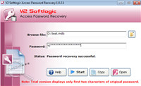 MS Access Db Password Decrypt Tool