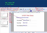 PDF Text Filler