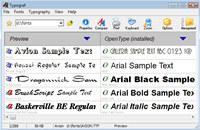 Typograf font manager