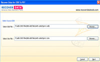 Download Exchange EDB to PST Converter screenshot medium