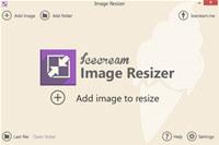 Icecream Image Resizer screenshot medium
