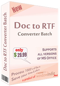Doc to RTF Converter Batch