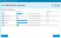 M3 RAW to NTFS Converter Server Edition