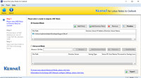 Migrate NSF to PST 2013