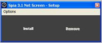 Spia 3.2 Net Screen screenshot medium