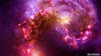 Colorful Nebula Space Flight ScreenSaver